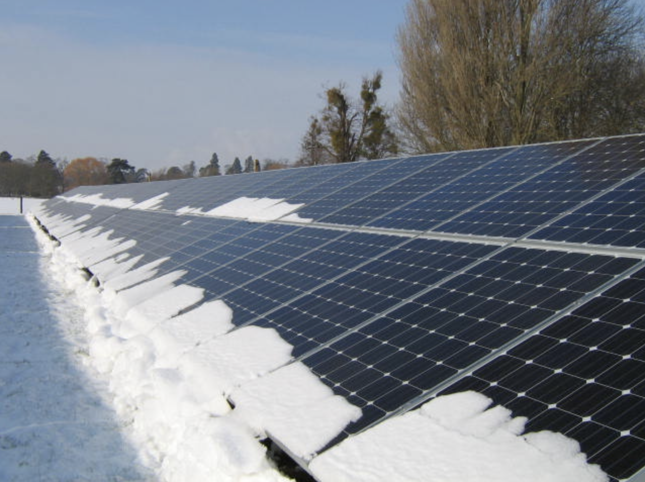 Inclement Weather Is No Match for Some Solar Technology