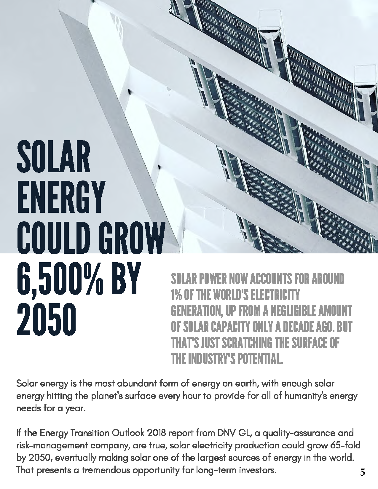 Solar Lighting Solution   ClearWorld LLC