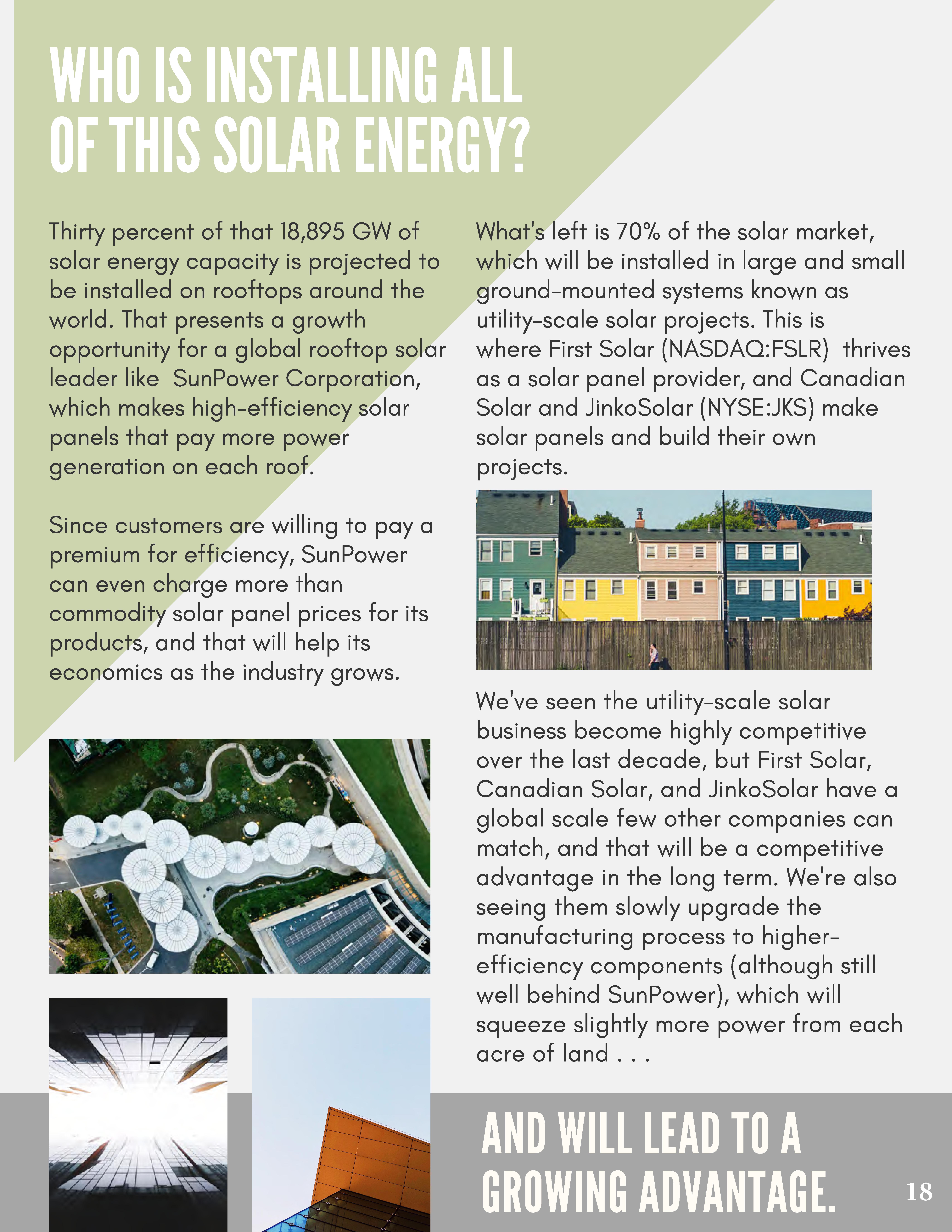 Solar LED | ClearWorld LLC
