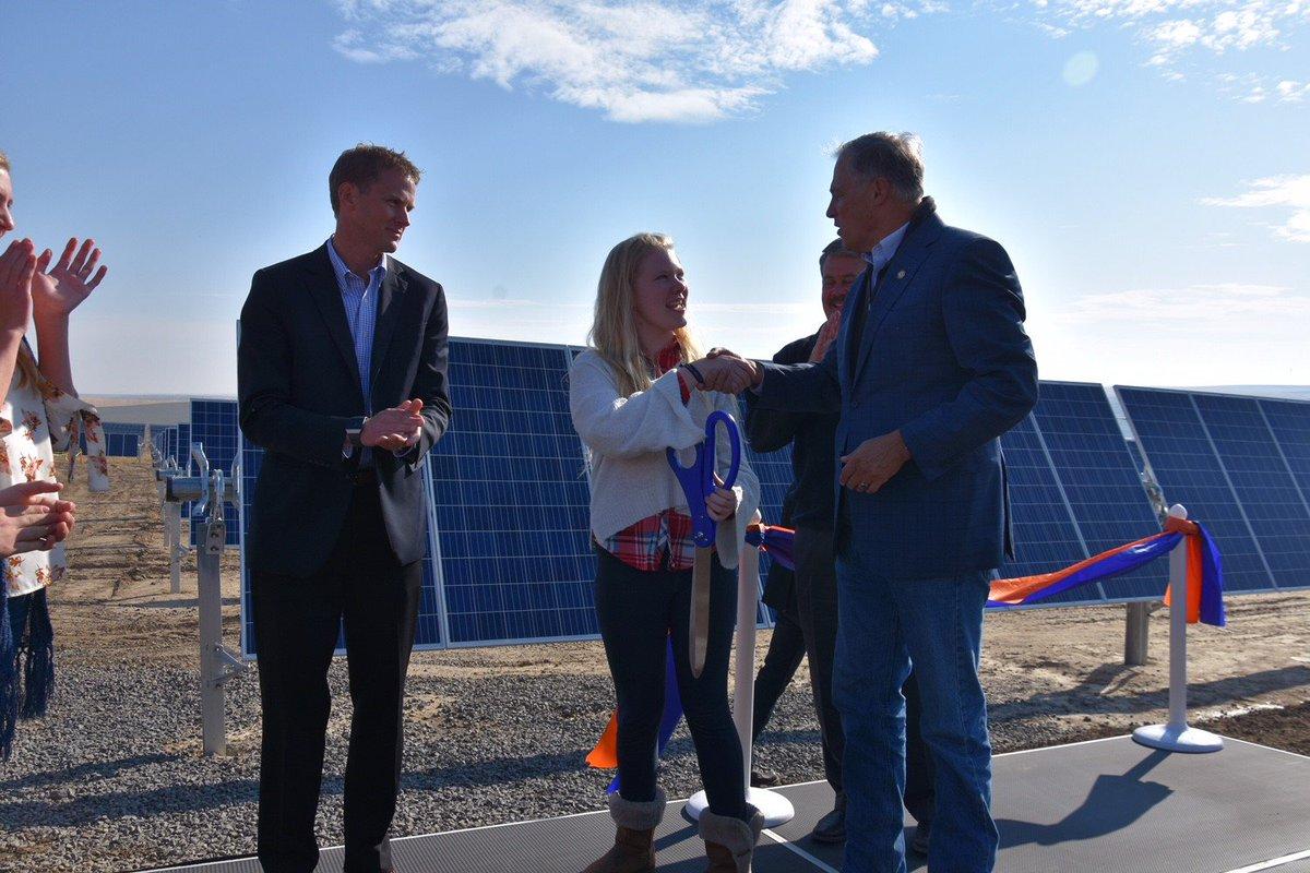 Jay Inslee Solar Energy