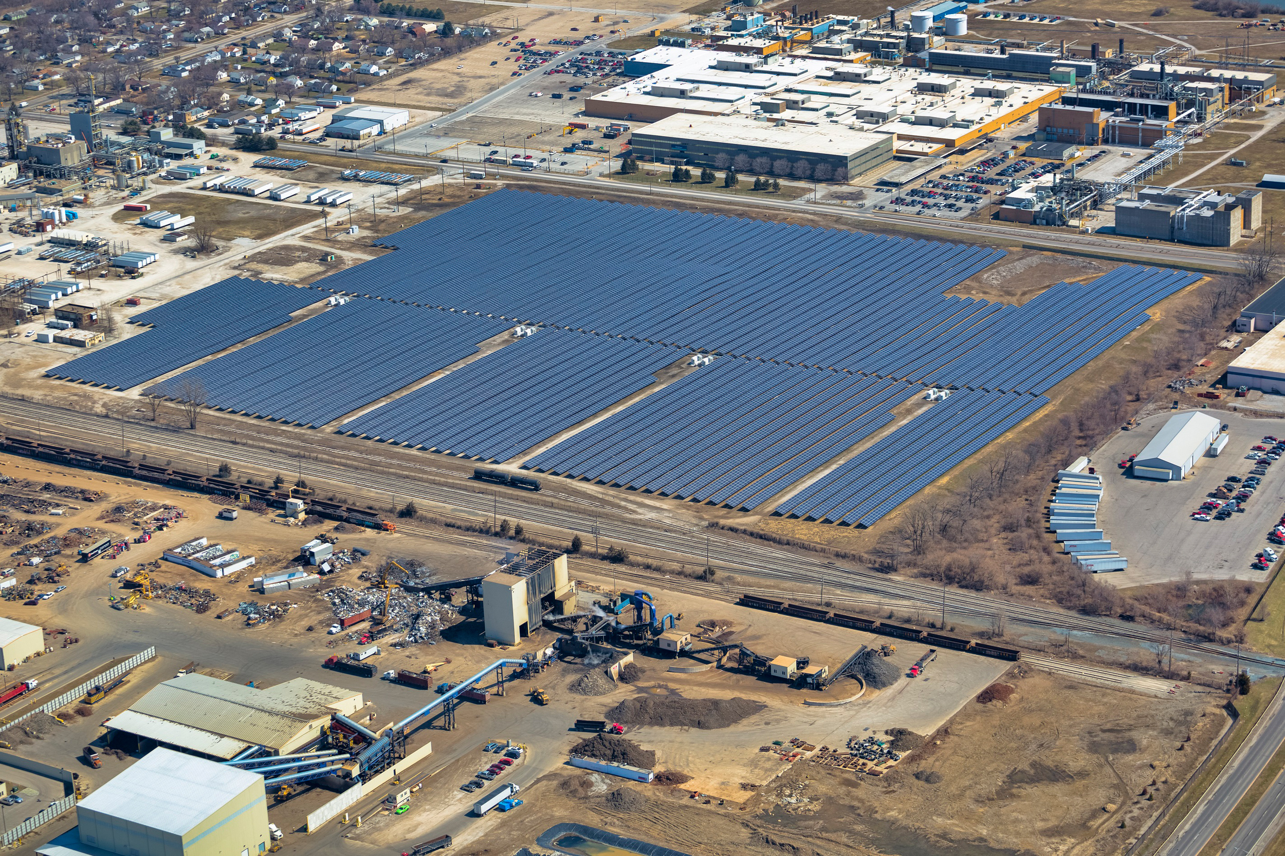 Superfund Site Solar Farm