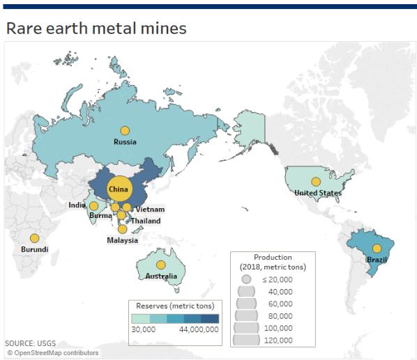 Rare Earth Mineral Mines
