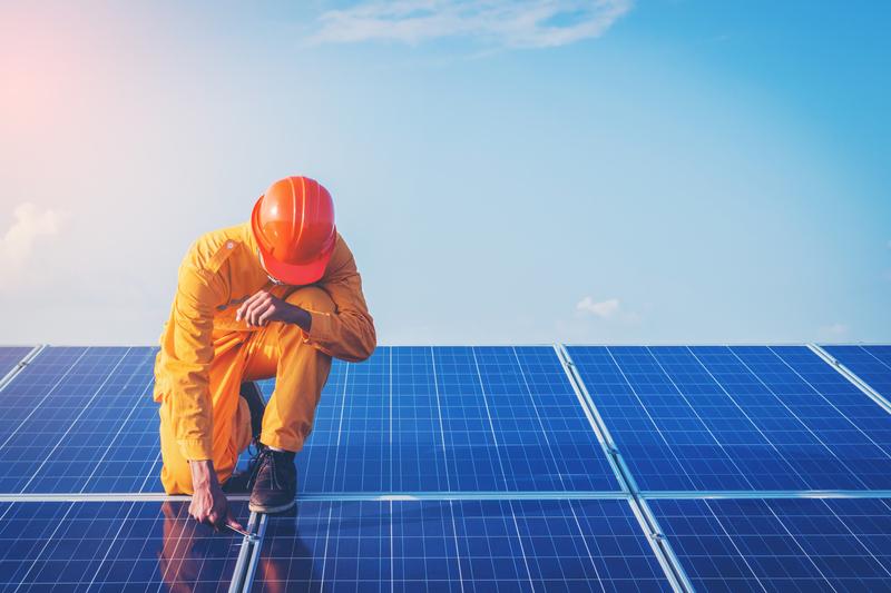 solar energy installer
